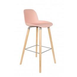 Barová židlička ALBERT KUIP, pink