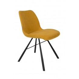 Židle Brent, mustard