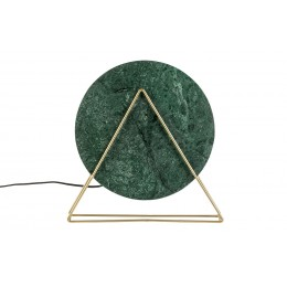 Stolní lampa Louis marble green