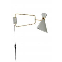 Nástěnná lampa SHADY, grey