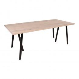 Jídelní stůl NANTES 200x95 cm, bílý dub