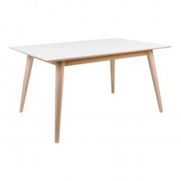 Jídelní stůl COPENHAGEN 150x95 cm, přírodní rám