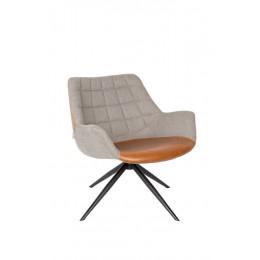 Lounge křeslo DOULTON, vintage brown