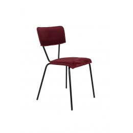 Židle MELONIE BORDEAUX