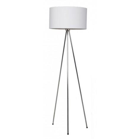 Zuiver / White Label Stojací lampa New Twist, bílá