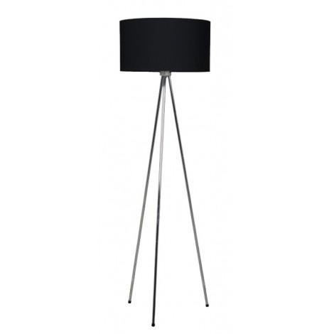 Zuiver / White Label Stojací lampa New Twist, černá