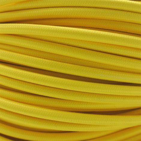 IMINDESIGN Kabel textilní žlutý Délka kabelu 1 m