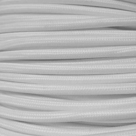IMINDESIGN Kabel textilní bílý Délka kabelu 1 m