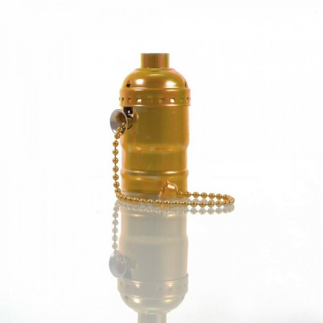 IMINDESIGN Objímka vintage zlatá