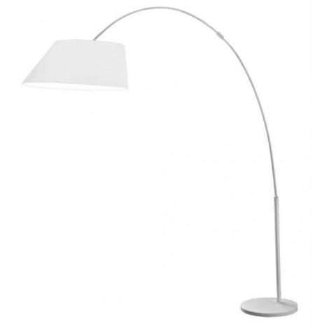 Zuiver Stojací lampa Arc, bílá