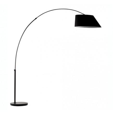 Zuiver Stojací lampa Arc, černá