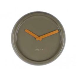 Hodiny Time Ceramic zelené