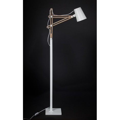 Mantra Stojací lampa Looker wood