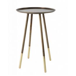 Konferenční stolek ELIOT brass
