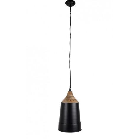 Zuiver Závěsná lampa WOOD TOP Black