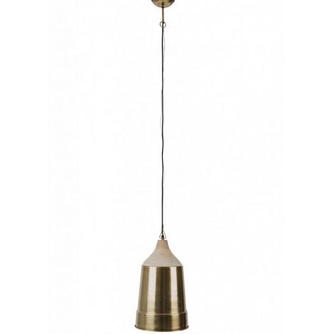 Zuiver Závěsná lampa WOOD TOP Brass