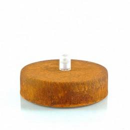 Montura stropní lakovaný kov přírodní rez