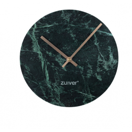 Hodiny Marble Time green