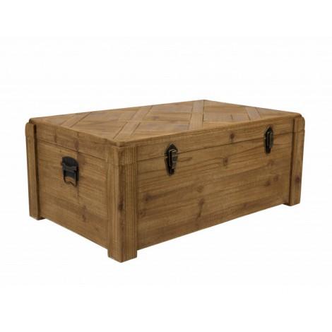 Dutchbone Dřevěná truhla Lon Trunk
