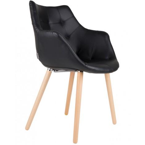 Zuiver Židle/křeslo Twelve Black