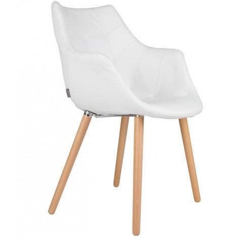 Zuiver Židle/křeslo Twelve White
