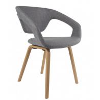 Židle/křeslo Flex Back nature/light grey