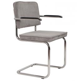 Armchair Ridge Rib cool grey