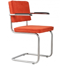 Armchair Ridge Rib orange