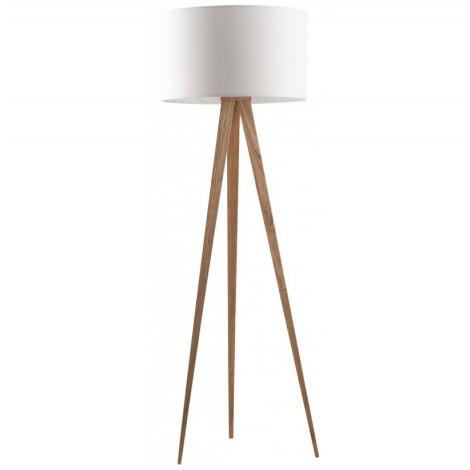 Zuiver Stojací lampa Tripod Wood white