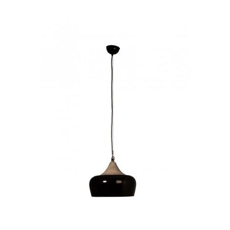 Dutchbone Závěsná lampa Coco Glossy black
