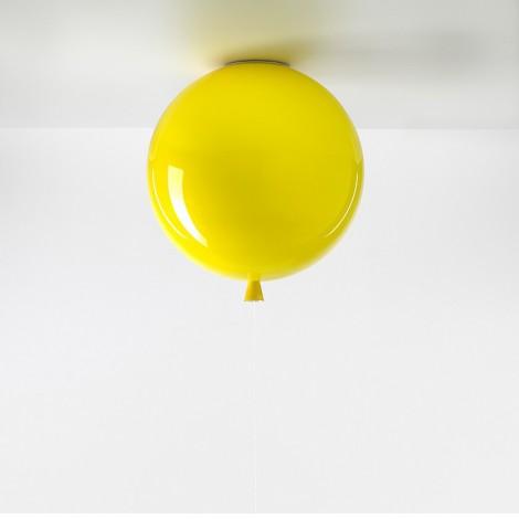 Brokis Stropní Memory triplex sklo, žlutá Rozměr svítidla 250 mm