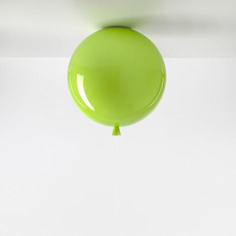 Brokis Stropní Memory triplex sklo, zelené jablko Rozměr svítidla 250 mm