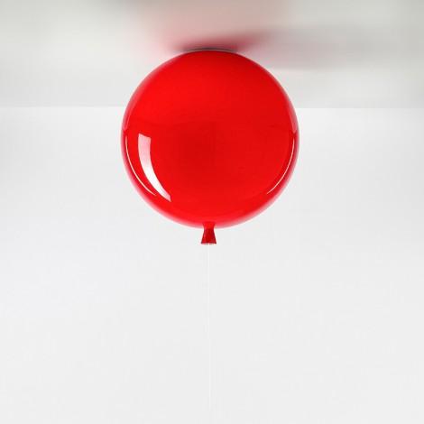 Brokis Stropní Memory triplex sklo, červená Rozměr svítidla 250 mm