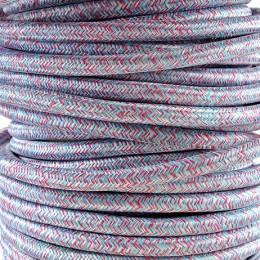 Kabel textilní multikolor