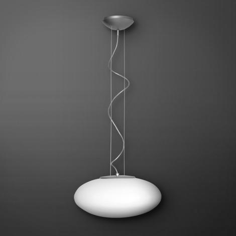 Lucis Závěsné svítidlo ASTERION, EVG, nikl Rozměr svítidla 450 mm
