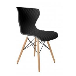 Židle Crow Beech Black