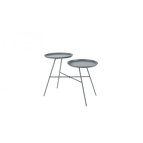 Zuiver Side table Indy grey