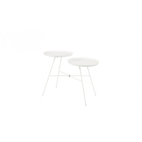 Zuiver Side table Indy white