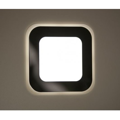 Luxlighting AURA RETRO zápustné, LED Rozměr svítidla 350 mm Povrchová úprava nerez brus