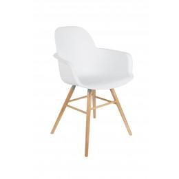 Albert Kuip křeslo/židle white