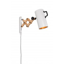 Nástěnná lampička Flex / white