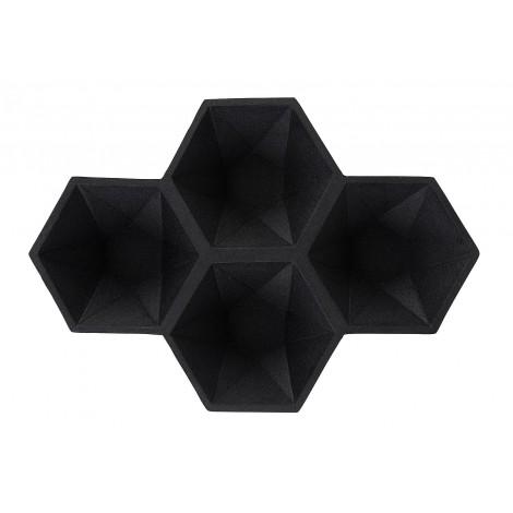 Zuiver Dekorační mísa HEXAGON/ black