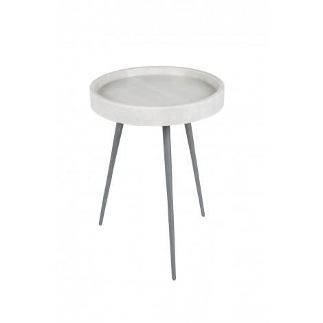 Zuiver Konferenční stolek KARRARA bílý
