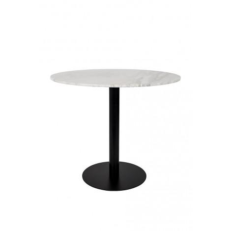 Zuiver Kulatý stůl Marble King 90' black
