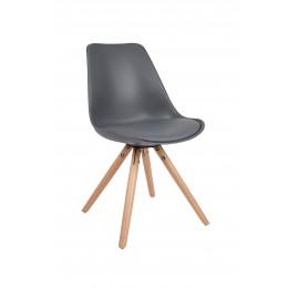 Židle TRYCK Dark Grey