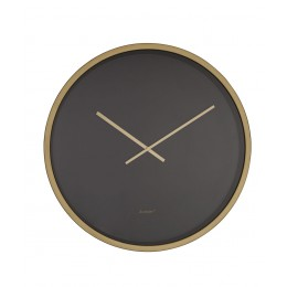 Hodiny Time Bandit Black/brass