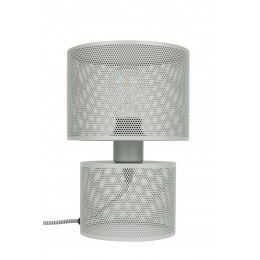 Stolní lampa GRID grey