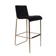Barová židle FLOR black
