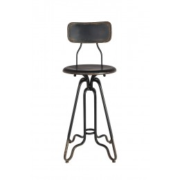 Barová židle OVID BLACK