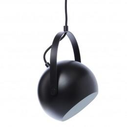 Ball with Handle, průměr 25 cm, závěsné, černá/mat
